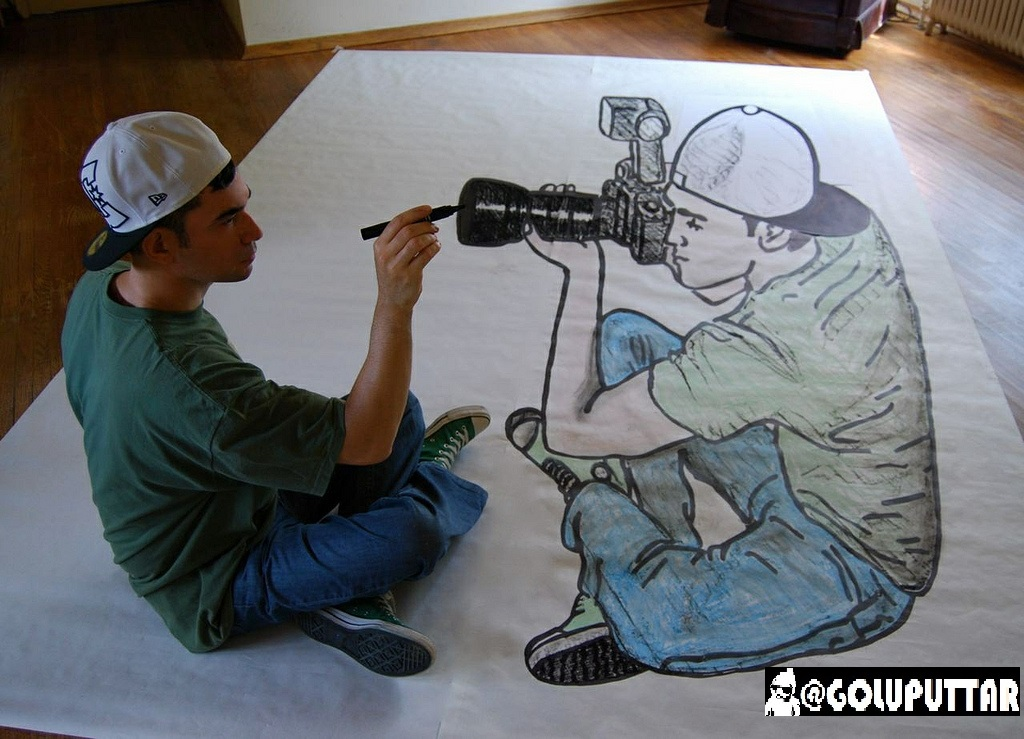 Extremelly Fantastic Optical Illusion Drawing