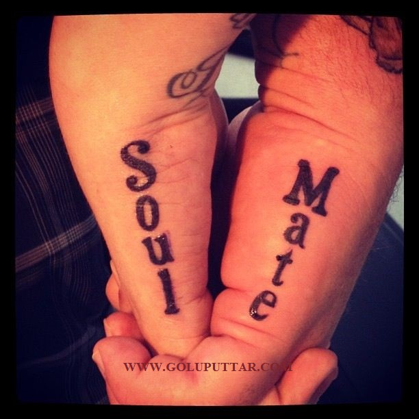 best wrist tattoos for love soul mates