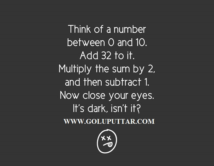 Awesome Funny Puzzles To Play In Darkness – Funny Number ...