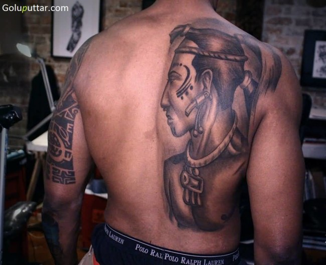 Best African Man Tattoo Ever