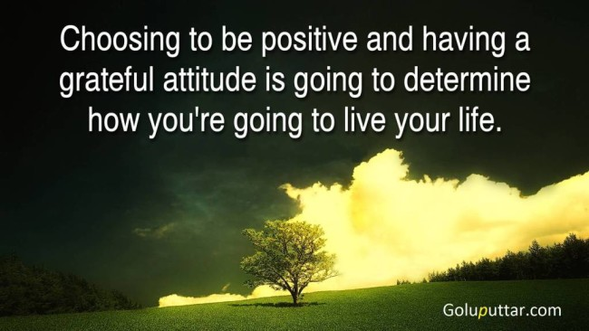 Best Attitude Quote It Describes About Your Life
