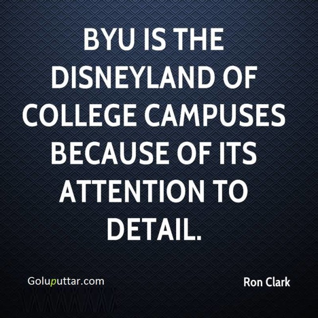 Brilliant College Quote Disneyland Of College