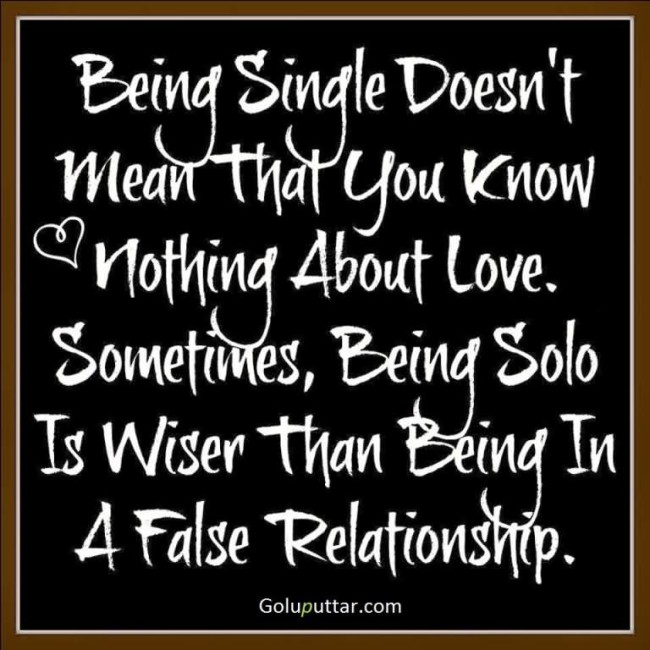 Fabulous Being Single Quote Being Solo Is Wiser