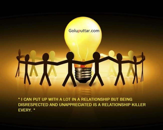 Famous Being Unappreciated Quote It Is A Relationship Killer