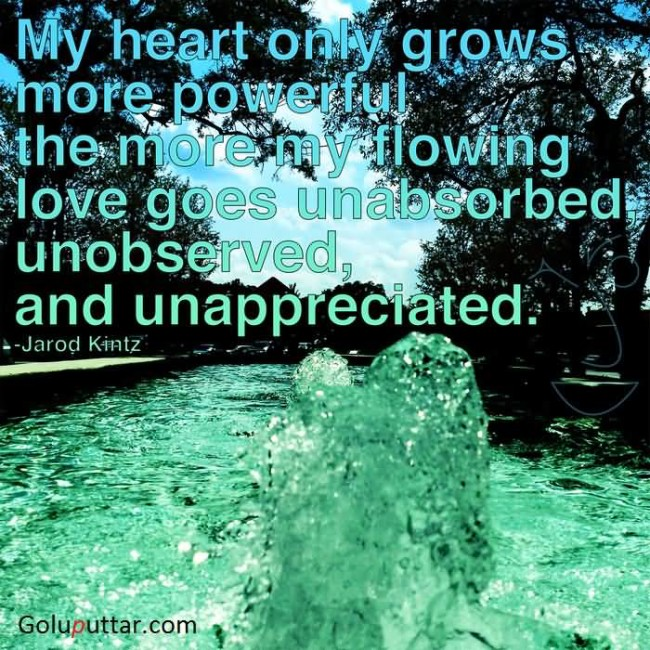 Fantastic Being Unappreciated Quote It's Called Breaking Your Own Fascinating Unappreciated Quotes