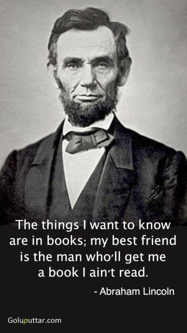 Famous Best Friend Quote By Abraham Lincoln