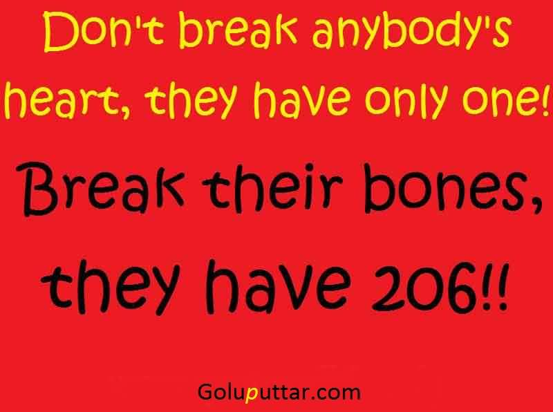 Funny Quotes On Love Break Up : Funny Break Up Quote Dont Break Heart - Goluputtar.com