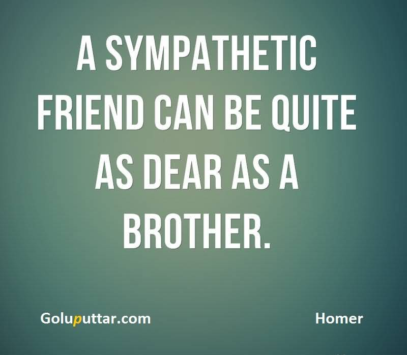 Latest Brother Quote Good Friend Is Like Brother   Goluputtar.com