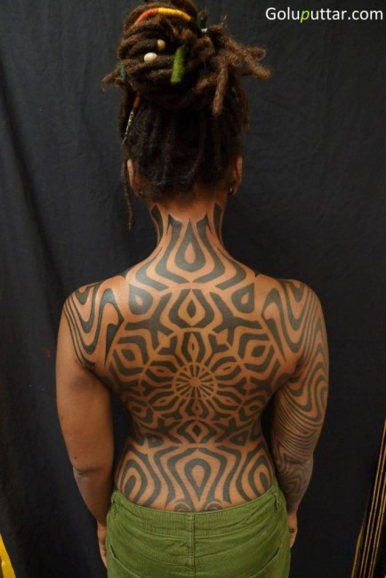 Mind Boggling African Tattoo