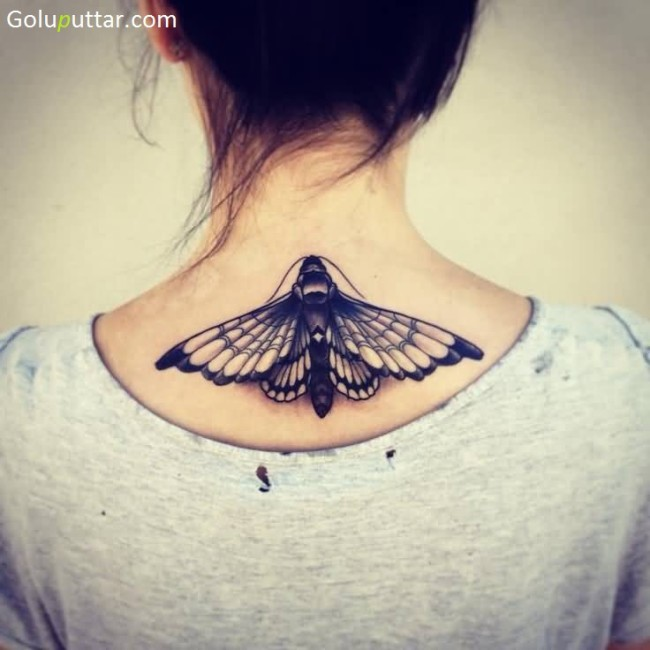 Perfect 3D Butterfly Tattoo