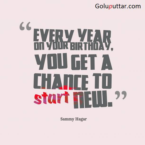 birthday life quotes