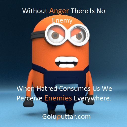 Popular Anger Quote Anger Makes Enemy