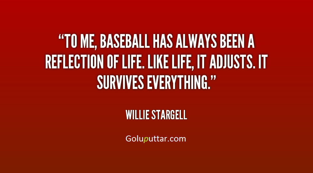 Baseball Quotes About Life 60 Awesome Baseball Life Quotes Magnificent Baseball Life Quotes