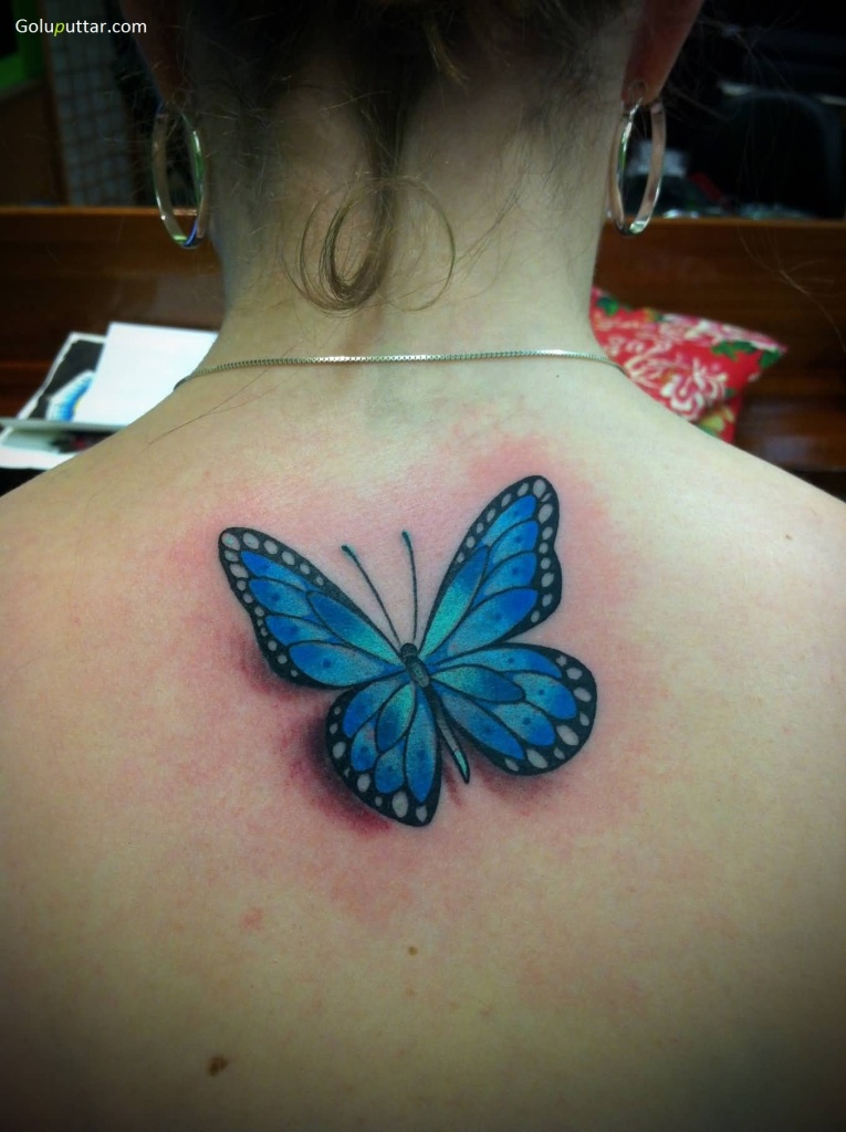 3D Butterfly Tattoos