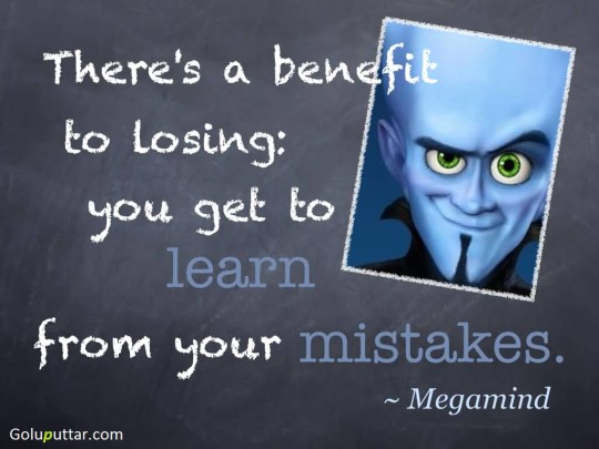 Amazing Mistake Quote Learn From Your Mistakes
