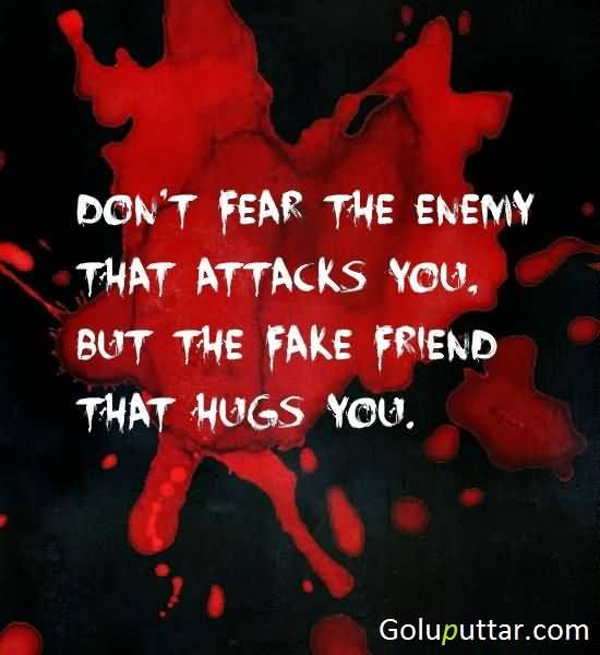 essay enemy of my enemy is my friend The difficulty in trusting someone who trusts your enemy july 19, 2013 by andrew marin how can my friend trust, like and be friends with this other person i hate.