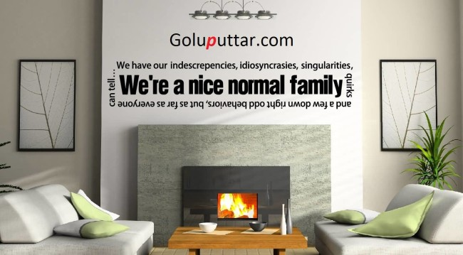 Awesome Family Quote We're A Normal Family