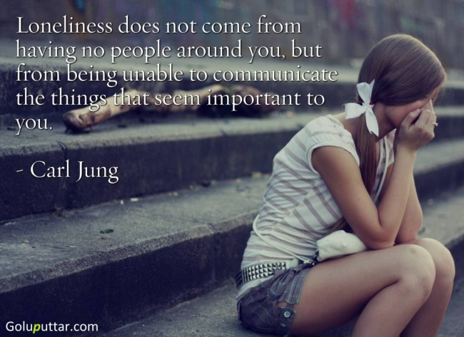 Best Loneliness Quote By Carl Jung