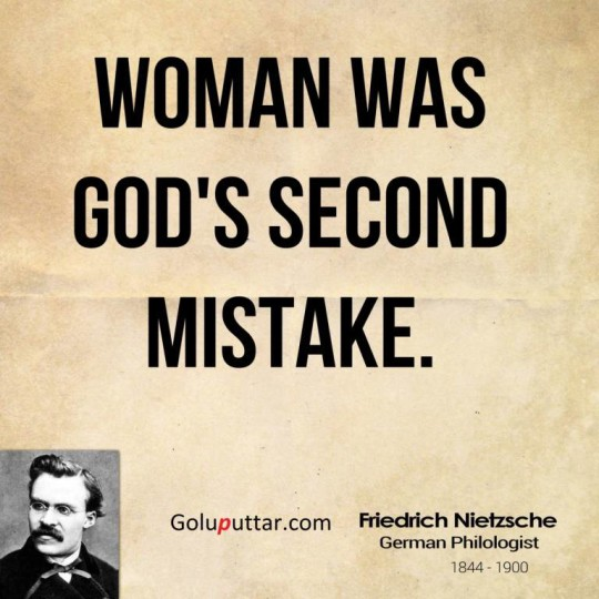 Best Mistake Quote About God's Second Mistake