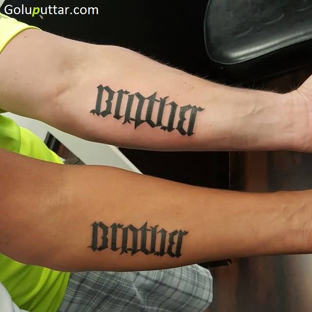 Ambigram sleeve tattoos and photo ideas for Tattoos that say something different upside down
