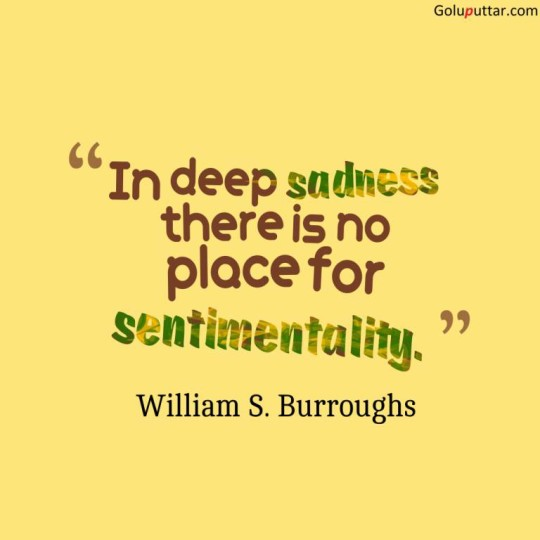 Brilliant Sad Quote About Deep Sadness