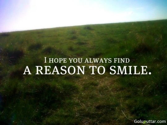 Brilliant Smile Quote About Reason For Smile