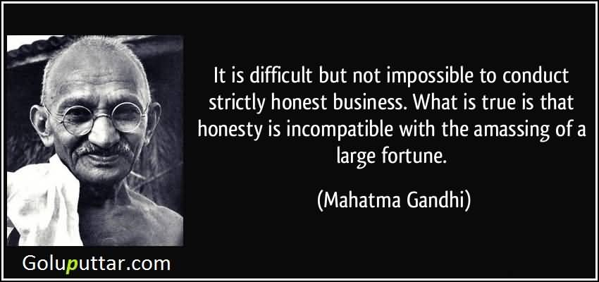 Famous Honesty Quote By Mahatma Gandhi Photos And Ideas Extraordinary Honesty Quotes