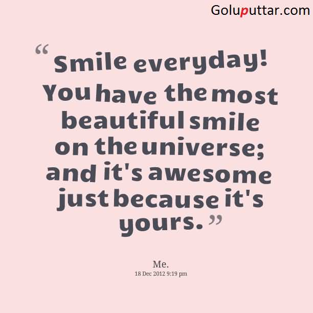 image gallery love his smile quotes