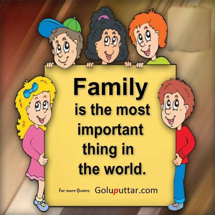 family is most important essay
