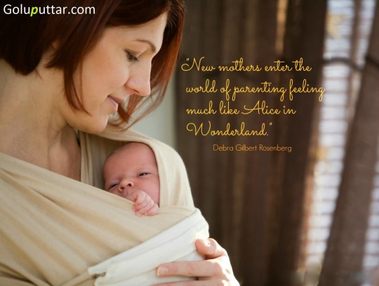 Fantastic Mother Quote About New Mother