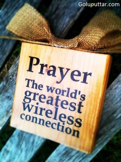Great Prayer Quote It's A Strongest Connection - Copy