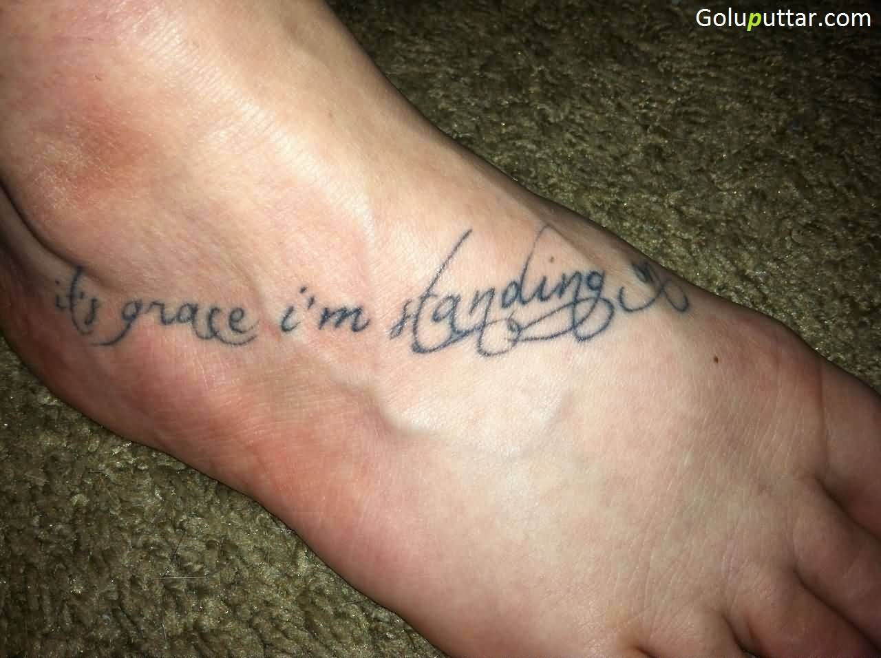 Ankle Quotes Tattoos