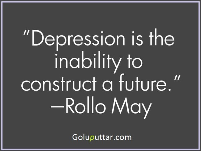 Mind Blowing Depression Quote It's The Inability