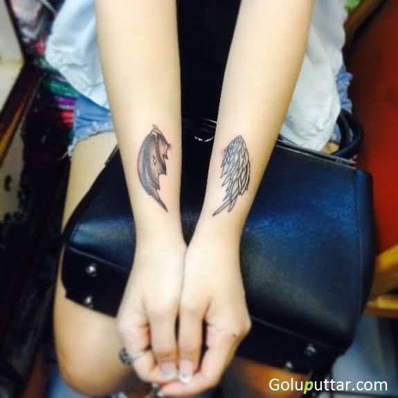 ed7321e063589 Angel Wing Tattoos | Best Angel Wings Tattoos Designs and Meanings ...