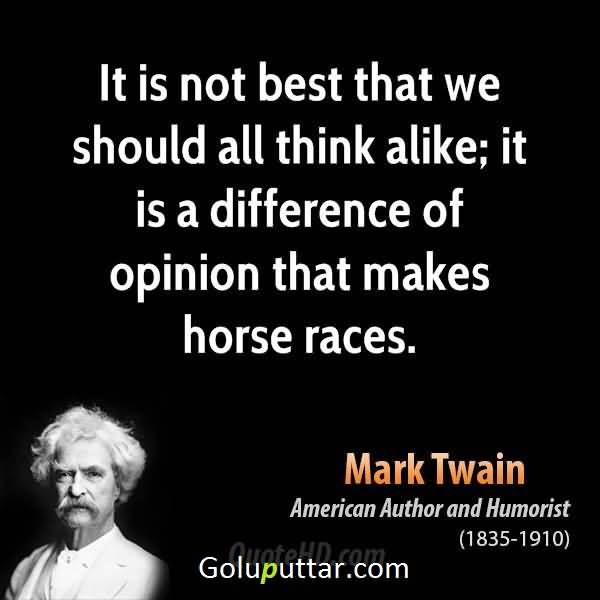 Mind Blowing Horse Quote By Mark Twain