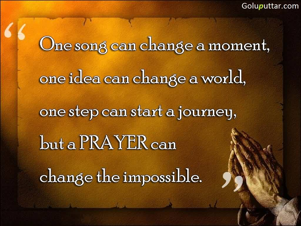 Prayer Quote New Prayer Quote It Can Do Anything  Goluputtar