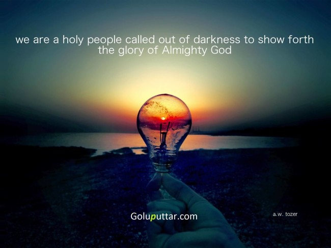 Nice God Quote About Holy People