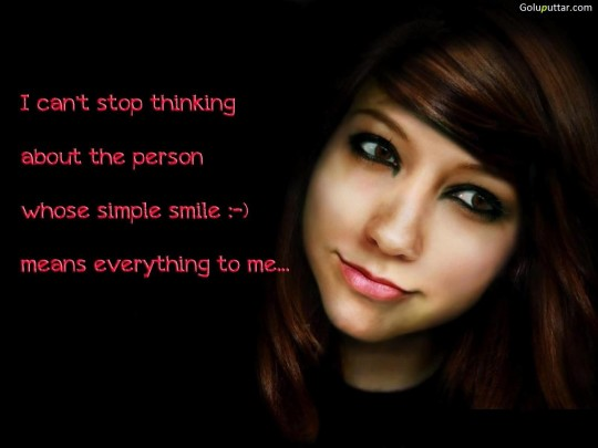 Nice Smile Quote Sometime A Smile Say Million Words