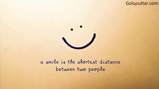Old Smile Quote It Kill All Distance Between Peoples