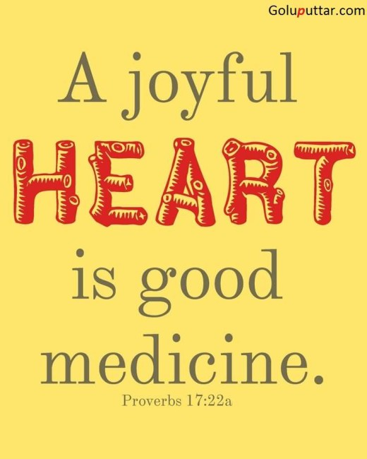 Popular Joy Quote About Joyful Heart