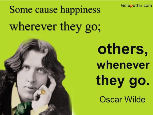 Superb Insult Quote By Oscar Wilde