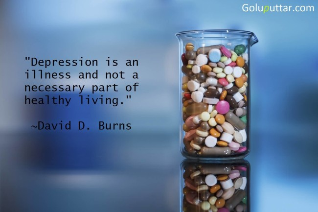 True Depression Quote It's Not A Part Of Life
