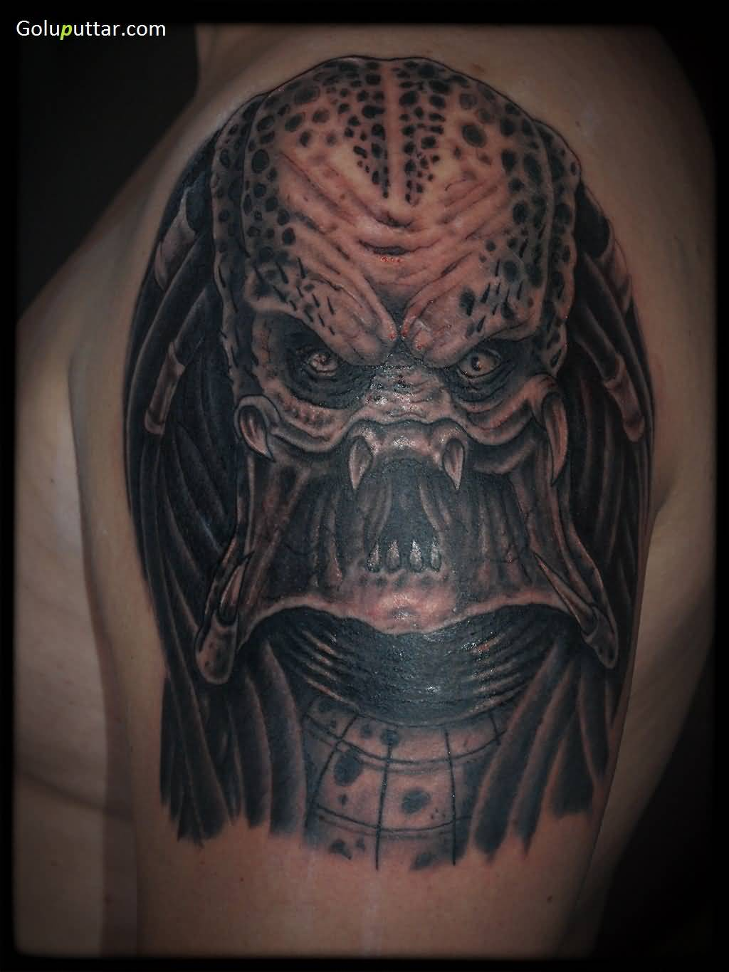 Alien Predator Tattoos