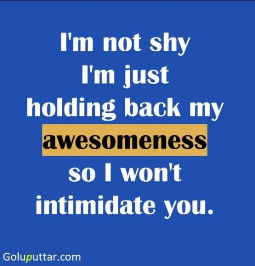 Funny Quotes About Being Shy: Online Pictures Ideas