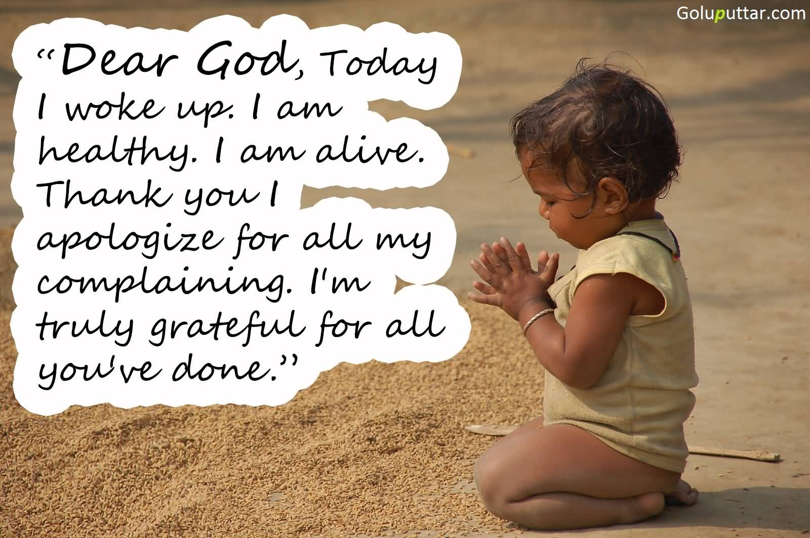 Awesome Thank You Quote I\'m Grateful To You God | Goluputtar