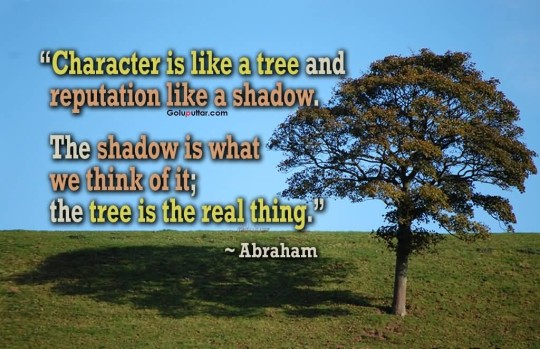 Brilliant Character Quote It's Like A Tree