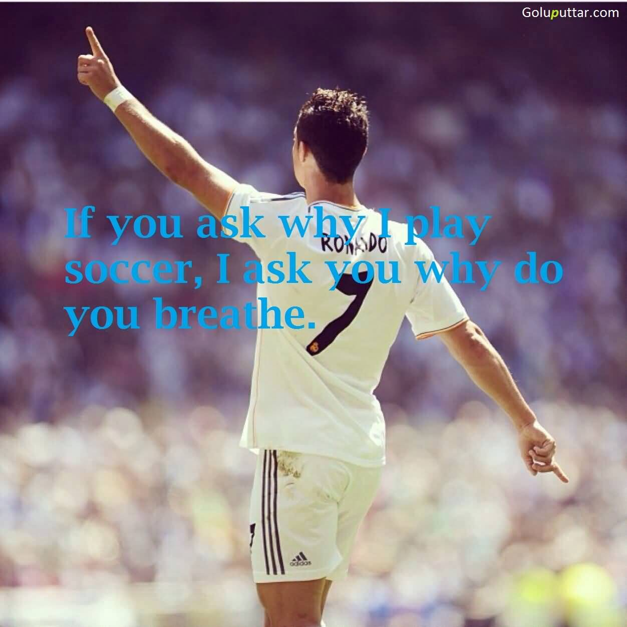Soccer Quote Fabulous Soccer Quote It My Life  Goluputtar