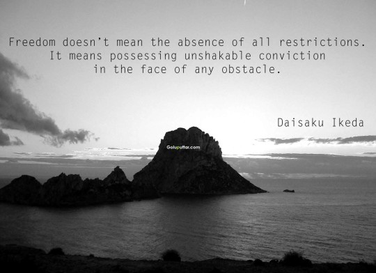Fantastic Absence Quote By Daisaku Ikeda