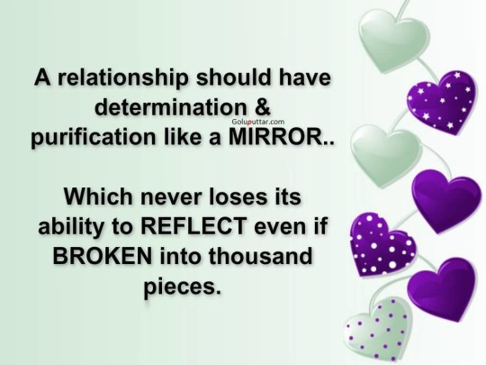 Great Determination Quote Relationship Should Have Purification