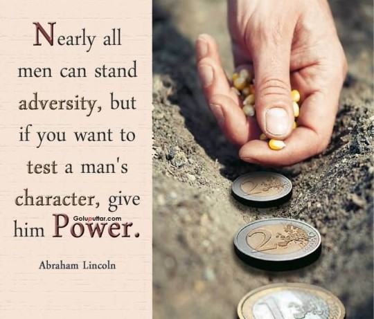 Lovely Character Quote By Abraham Lincoln